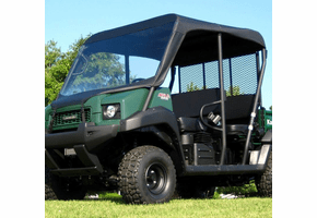 Falcon Ridge Soft Windshield and Top - Kawasaki Mule 3010 Trans | 4010 Trans