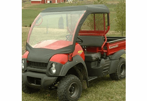 Falcon Ridge Soft Windshield and Top - Kawasaki Mule 600 | 610