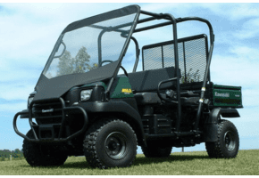 Falcon Ridge Soft Windshield - Kawasaki Mule 3010 Trans