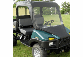 Falcon Ridge Soft Windshield, Top and Rear Window - Bush Hog Trail Hand 4400