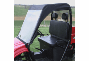 Falcon Ridge Soft Windshield, Top and Rear Window - Chuck Wagon