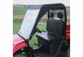 Falcon Ridge Soft Windshield, Top and Rear Window - Honda Big Red