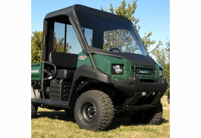 Falcon Ridge Soft Windshield, Top and Rear Window - Kawasaki Mule 3000 | 3010 | 4000 | 4010