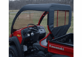 Falcon Ridge Soft Windshield, Top and Rear Window - Kawasaki Mule 600 | 610
