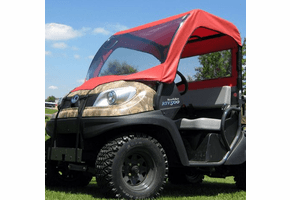 Falcon Ridge Soft Windshield, Top and Rear Window - Kubota RTV 400