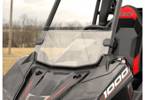 Falcon Ridge Tinted Half Front Windshield - Polaris RZR RS1