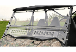 Falcon Ridge Two Piece Aero-Vent Front Windshield - Kawasaki Teryx4 | Teryx 800