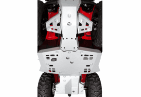 Rival Aluminum Skid Plate and Guards Kit - 2014-20 Honda Foreman | Rancher