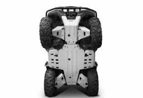 Rival Aluminum Skid Plate and Guards Kit - 2016-19 Yamaha Grizzly 700