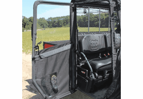 Seizmik Hinged Framed Door Kit w| Rear Panel - Kubota RTV XG850 Sidekick