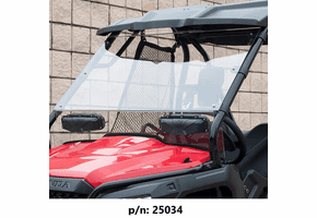 Seizmik Versa-Vent Hard Coated Front Windshield - Honda Pioneer