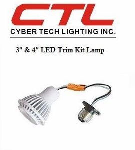 "<b>Cyber Tech</b></br>3"" & 4"" LED Trim Kit Light Bulb</font></u>"