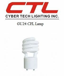 <b>Cyber Tech</b></br> GU24 Spiral CFL Light Bulb</font></u>