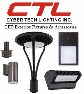 <b>Cyber Tech</b></br> LED Exterior Fixures & Accessories</font></u>