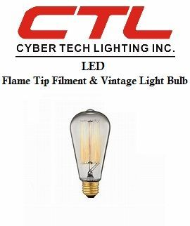 <b>Cyber Tech</b></br> LED Filament Light Bulb </font></u>