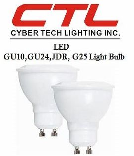 <b>Cyber Tech</b></br> LED GU10,GU24, JDR, G25,PAR16 Light Bulb</font></u>