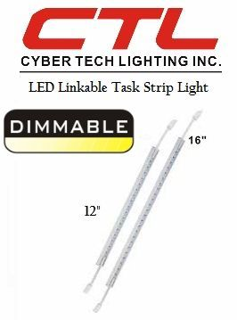 <b>Cyber Tech</b></br> LED  Linkable Task Strip Under-Cabinet Light</font></u>