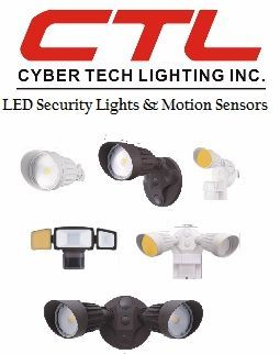 <b>Cyber Tech</b></br> LED Security Lights and Motion Sensors</font></u>