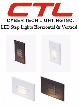 <b>Cyber Tech</b></br> LED Step Lights, 120V </font></u>