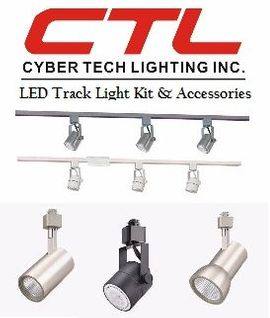 <b>Cyber Tech</b></br> LED Track Light Kit , Track Light Haed & Accessories</font></u>