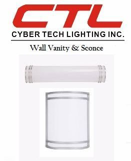 <b>Cyber Tech</b></br> LED Wall Vanity & Sconce </font></u>