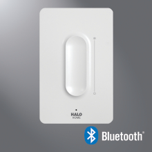 Halo Home HWAS1BLE40AWH Anyplace Bluetooth Dimmer