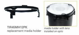 HALO TIR45MH12PK Media holder for 50mm Lens (Use with ML4 LED)