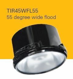 HALO TIR45WFL55 ML4 Optics 55 Degree Wide Flood (Use with ML4 LED)