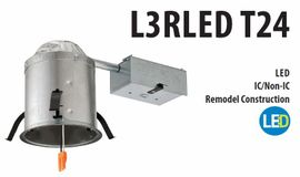 "Litonia L3RLED T4 4"" Remodel LED Housing"