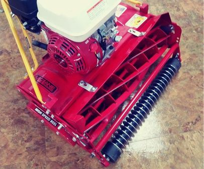 """20"""" McLane 7-Blade Reel Mower with Grooved Front Roller"""