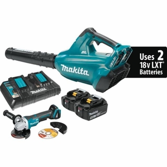 Makita 36-Volt Cordless Blower Kit with FREE CORDLESS GRINDER