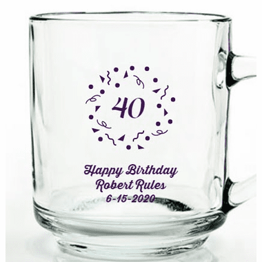 40th Birthday Mugs
