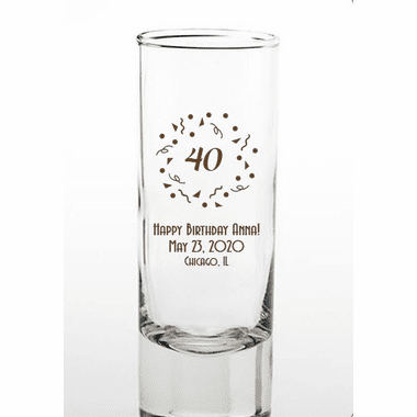 40th Birthday Shooters
