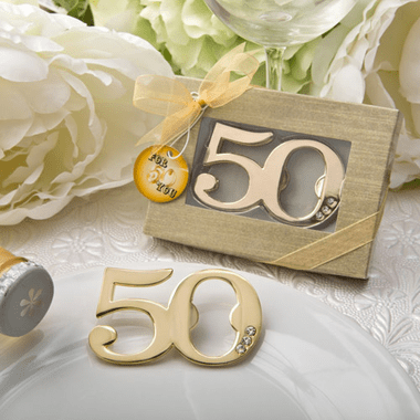 50th Anniversary Bottle Openers