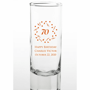 70th Birthday Shooters