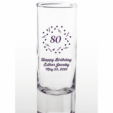 80th Birthday Shooters