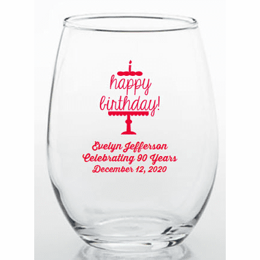 90th Birthday Party Favor Glasses