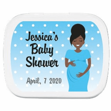 African American Baby Shower Favors Custom Mints
