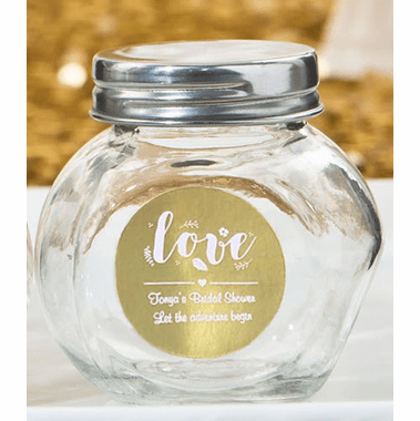 Baptism Giveaways Mini Candy Jars