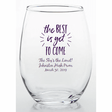 Best Is Yet To Come Stemless Glass