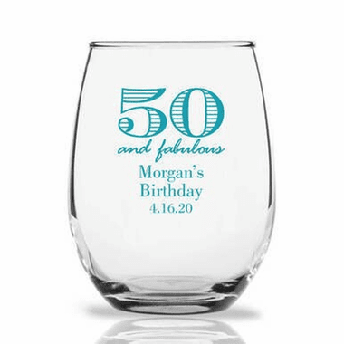 Birthday Party Glasses - In Stock