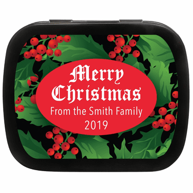 Christmas Candy Favors - Mint Tin