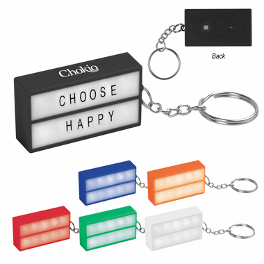 Cinema Lightbox Keychains