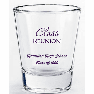 Class Reunion Shot Glasses