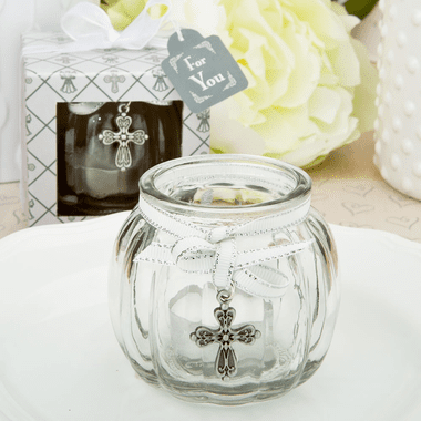 Clear Glass Candle Holder Decorations