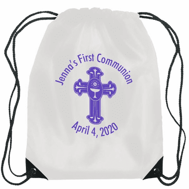 Communion Drawstring Bags