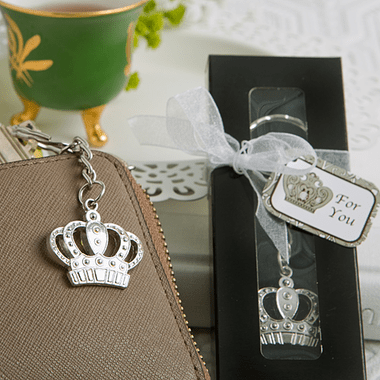 Crown Keychain Silver