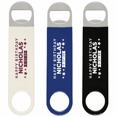Custom Bartender Bottle Openers