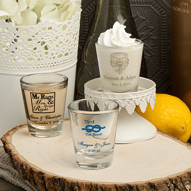 Custom Designed Shot Glasses