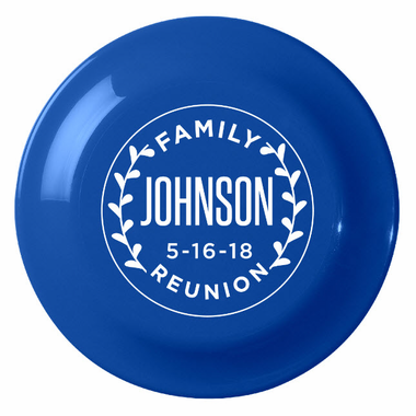 Custom Flying Disc